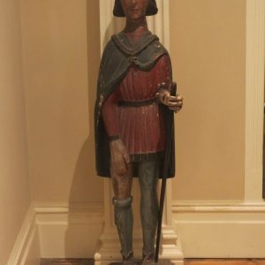 A 16TH CENTURY FIGURE OF ST. ROCH