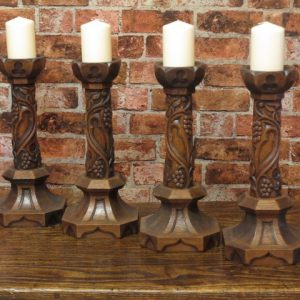 ARTS AND CRAFTS CANDLE STICKS