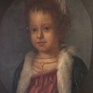 18TH CENTURY PORTRAIT OF A YOUNG GIRL