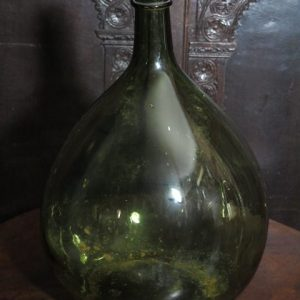 LARGE EARLY GLASS BOTTLE