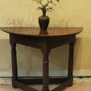 A 17TH CENTURY CREDENCE TABLE……..RESERVED