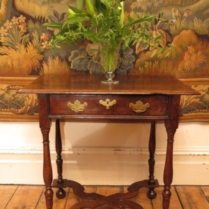 A 17TH CENTURY SIDE TABLE