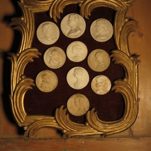 FRAMED 19TH CENTURY INTAGLIOS……RESERVED