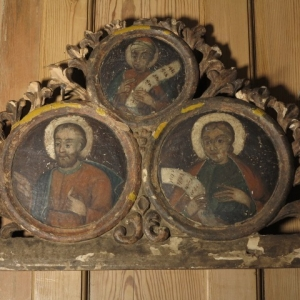17TH CENTURY FRAMED SAINTS