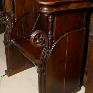 A 17TH CENTURY FRENCH MISERICORD SEAT